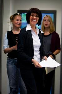 Eva Ihnenfeldt, Frau Dietrich und Frau Stichert von Zimmer im Revier