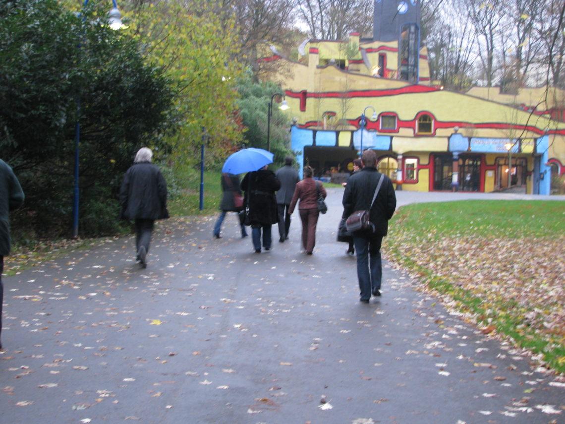 Mit der XING-Gruppe Ruhrgebiet im Hundertwasser-Haus in Essen
