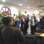 Leiterin Michaela Schalk führt gern Gruppen durch das Haus, das für den Unterhalt auf Spenden angewiesen ist