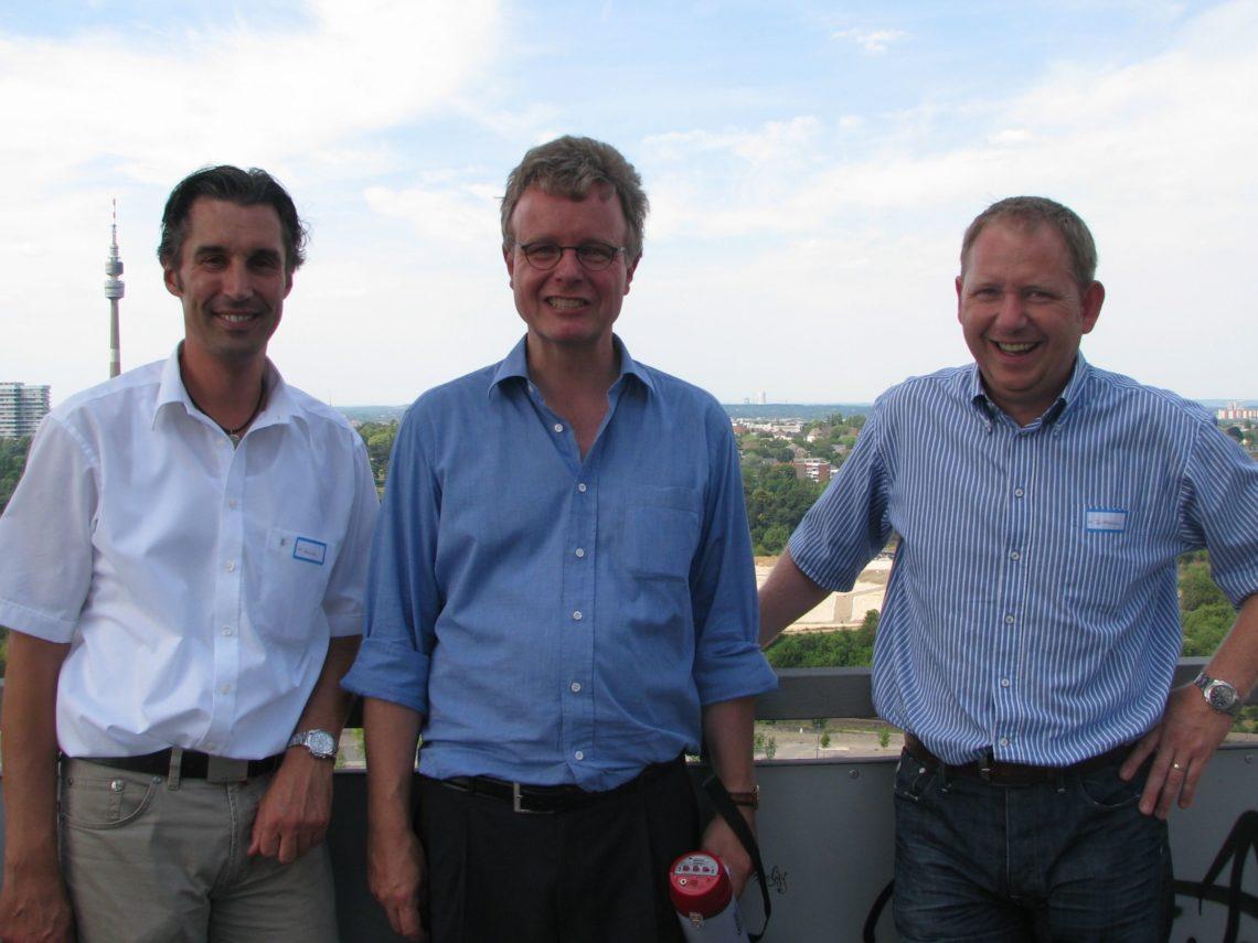 50. Kanzleijubiläum: der Patentanwalt und der Phönixturm aus Dortmund …