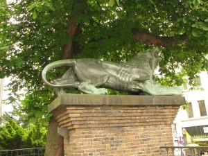 Der Löwe vor dem Zeughaus blieb mit in besonderer Erinnerung