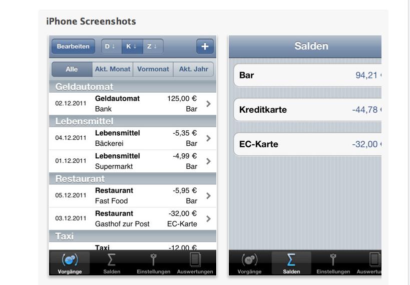 Haushaltsbuch App Iphone