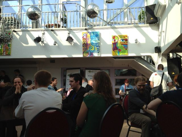 Beginn BarCampRuhr 2012