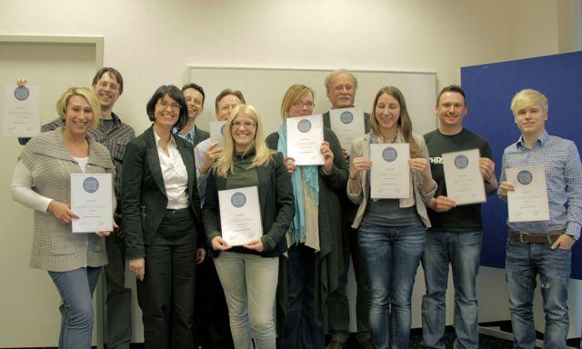 Weitere 10 Social Media Manager erhalten ihr Zertifikat von der Business Academy in Dortmund
