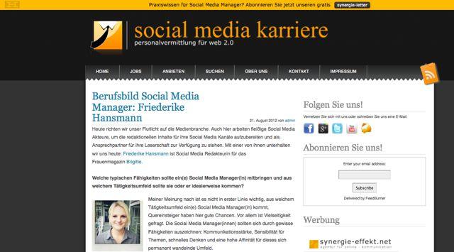 """Berufsbild """"Social Media Manager"""" - was bedeutet das genau ..."""