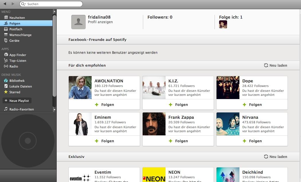Spotify – Social Media-Musik: Musik entdecken, hören, teilen