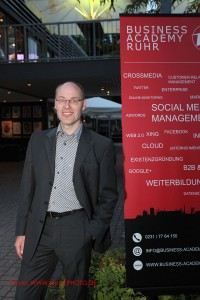 Dr. Christian Peter, Marketing Agentur Peter & Samorra war Top-Speaker auf der BARsession im August