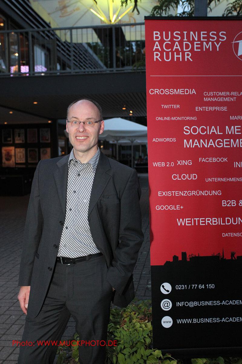 Dr. Christian Peter, Marketing Agentur Peter & Samorra war Top-Speaker auf der BARsession im August