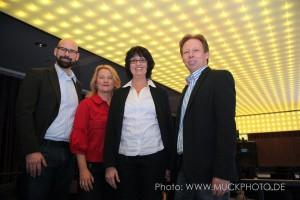 Kai Bünseler, Marie Huchthausen, Eva Ihnenfeldt und Holger Rohde