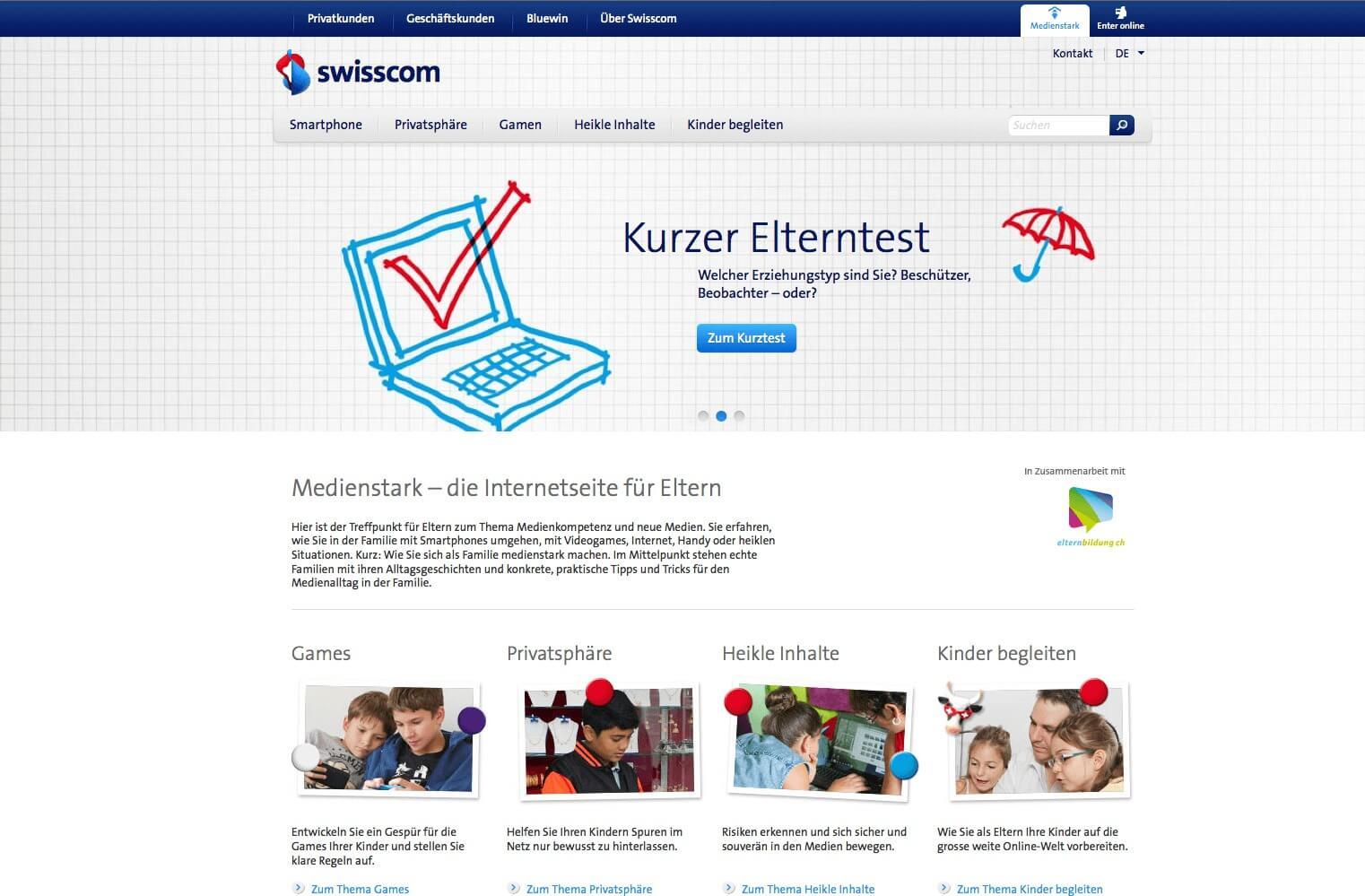 Um auf das Schweizer Portal Medienstark zu kommen, bitte auf das Bild klicken