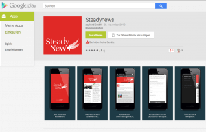 App im Google Play Store