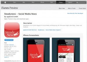 App im iTunes Store