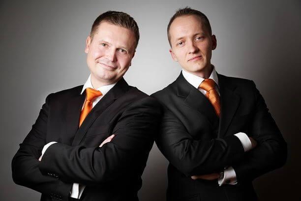 Sebastian Voss und Sebastian Wartenberg