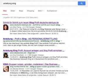 Google+ lohnt sich schon allein wegen dem relevanten Authorprofil!