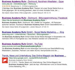 Jedes Unternehmen wünscht sich Google Ergebnisse mit Sternchen-Bewertung - aber wie kann man diese erlangen?