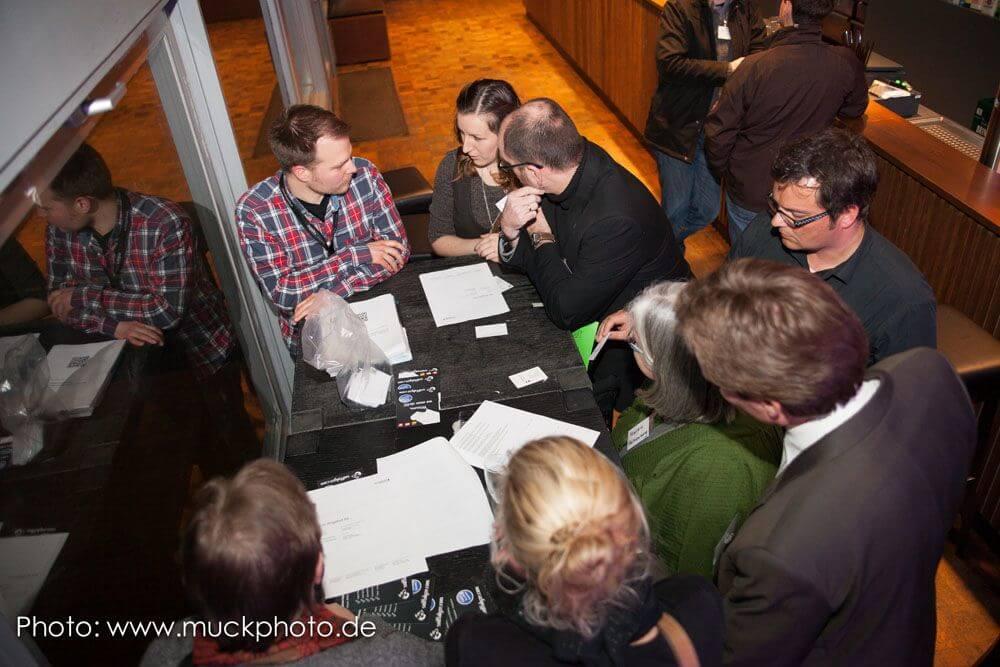 Bei der letzten BarSession im Dezember war der BVB mit seinem Social Media Marketing zu Gast. Doch auch die Workshops (hier mit Timo Mankartz) erfreuen sich großer Beliebtheit