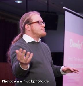 Klug und unterhaltsam war der Top-Speaker Prof. Tim Bruysten