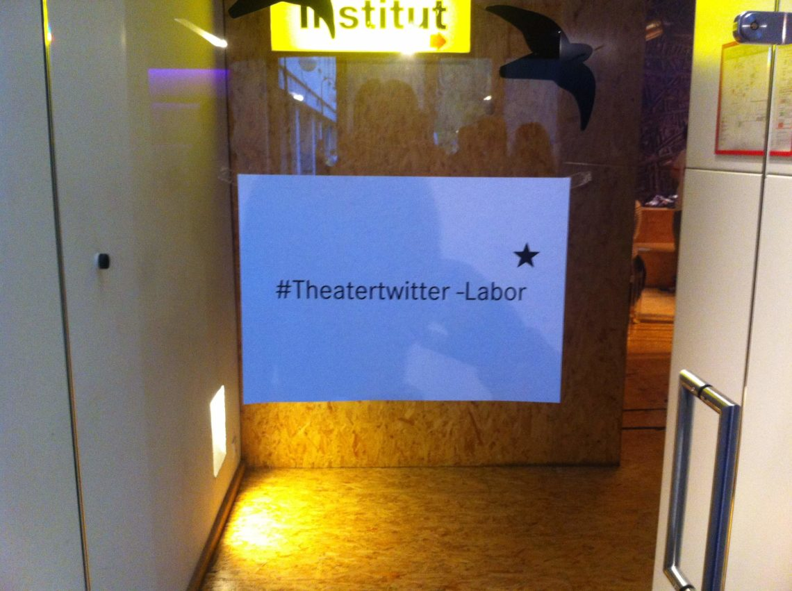 Schauspielhaus Dortmund lädt ein zum Theatergetwitter-Experiment auf Twitter