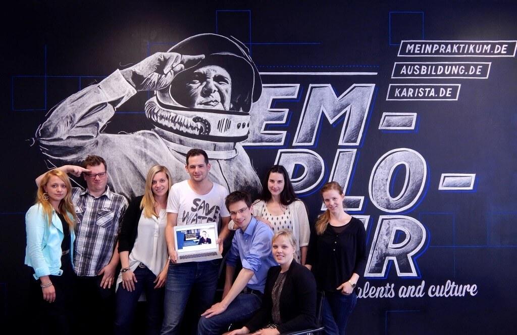 Das Team von Employour