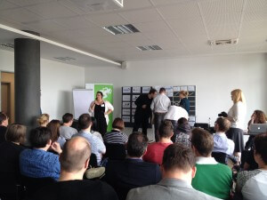 Sessionplanung beim MonitoringCamp 2014 in Koeln