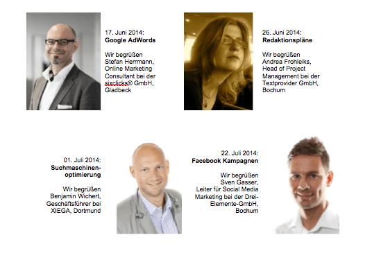 Sommer Akademie der Business Academy Ruhr: BarStunde