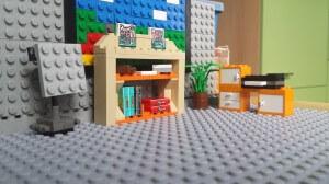 Büro aus LEGO