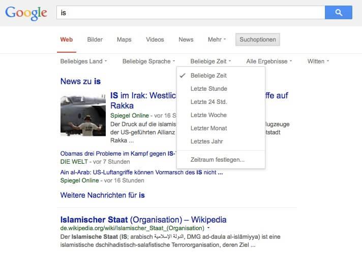 Anleitung für die Google-Suche: Die wichtigsten Befehle