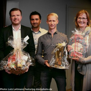 Kami Housseinian und die glücklichen Gewinner