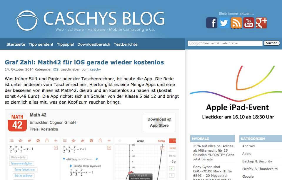 Cashys Blog