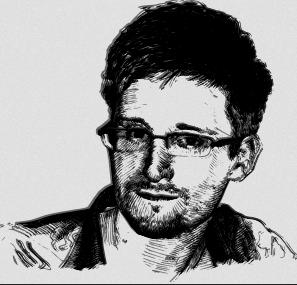 Edward Snowden_openclipart_Karolus_BR