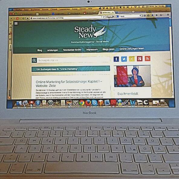 Online-Marketing für Selbstständige: Kapitel 1.2 – Checkliste für die Website-Konkurrenzanalyse