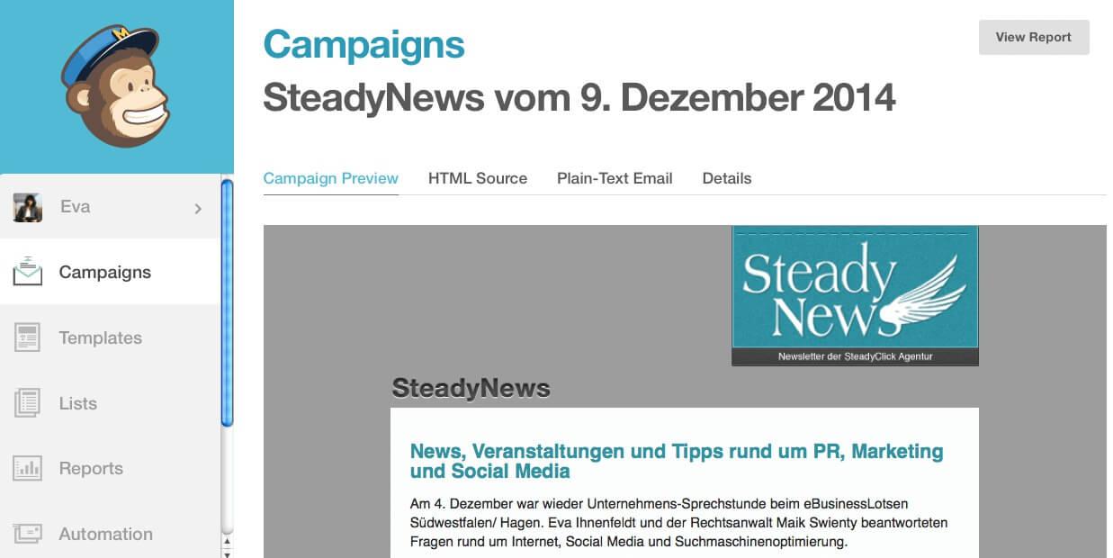 Online-Marketing für Selbstständige: Kapitel 2.1. – Newsletter-Planung