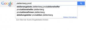 Google Suche Plettenberg