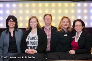Gruppenfoto mit Eva Ihnenfeldt, Romy Mlinzk, Holger Rohde, Marie Huchthausen und Milena Droste