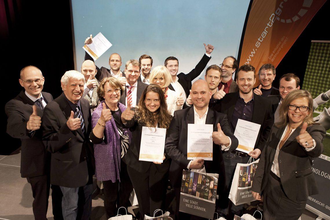 Die Gewinner bei start2grow: 10 Businesspläne Phase 1März 2015