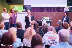 Holger Rohde beim Newsspot