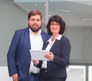 KMU-digital mit Dennis Arntjen und Eva Ihnenfeldt - fotografiert von Andreas Muck