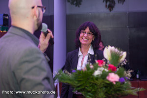 Kai Bünseler, verantwortlich für den IT-Standort Dortmund bei der Wirtschaftsförderung, hatte mir zum Abschied Blumen mitgebracht - danke schön lieber Kai!