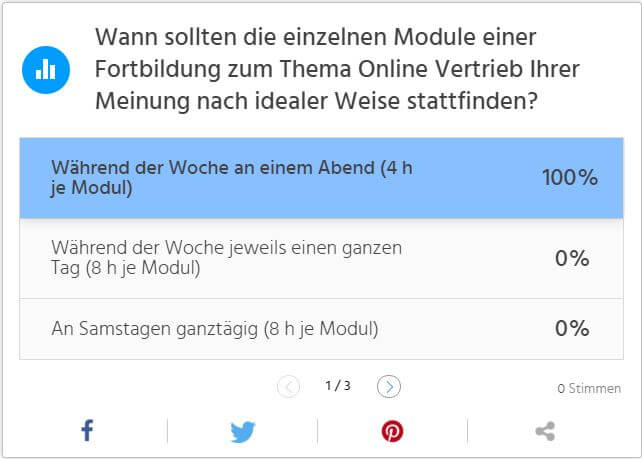 Beitragsbild Umfrage