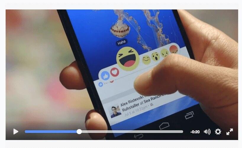 Neue Smileys bei Facebook: Freude, Liebe, Lachen, Staunen, Trauer und Wut