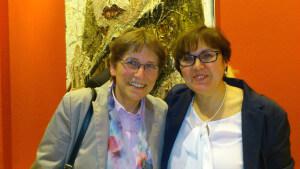 Zwei großartige Frauen: Ursula Ammon (stellv. Vorsitzende Dortmunder Forum Frau und Wirtschaft) und Ursula Bobitka (Wirtschaftsförderung Dortmund)