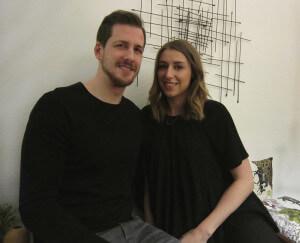 Andre Teich und Alina Heptner - nicht nur privat ein Paar...