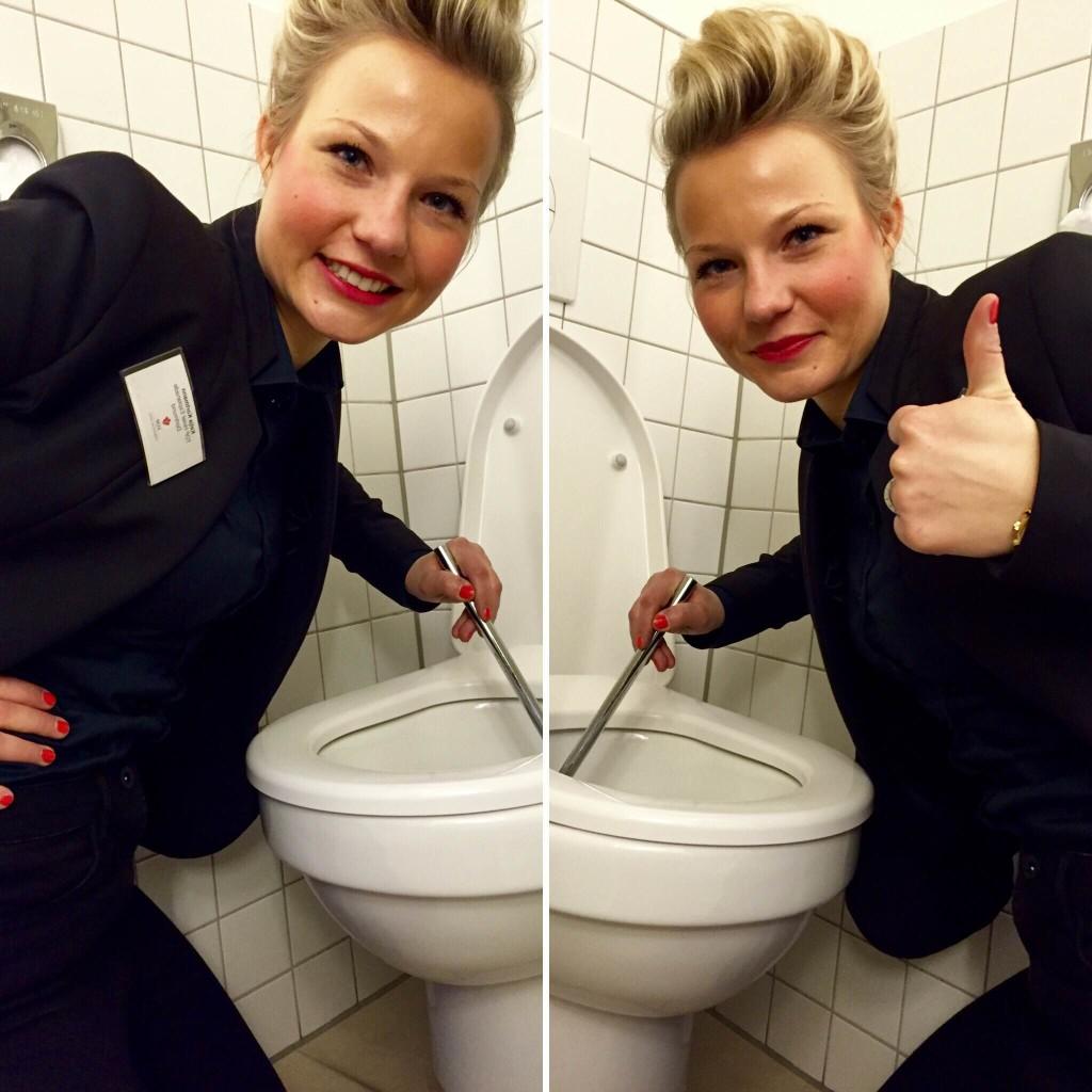 """Bevor Katja Kortmann die Leitungsfunktion übernahm, hat sie 6 Monate im Housekeeping gearbeitet - wie all die anderen """"Zimmermädchen"""" auch - das verschafft Respekt bei den Mitarbeitern!"""