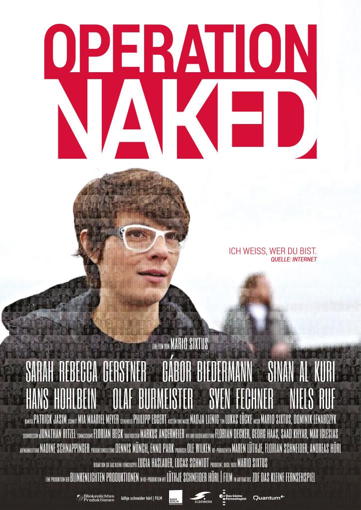 Filmplakat - Operation Naked