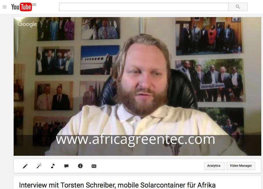 Torscten Schreiber African Green Tec