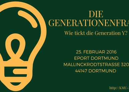 """""""Die Berater"""" – Am 25.02.2016 mit dem Thema """"Die Genrationenfrage: Wie tickt die Generation Y?"""""""