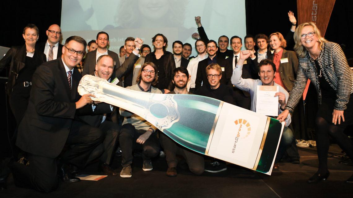 Abschluss und Preisvergabe bei Start2Grow am 24. Februar 2016 – 10 Gewinner beim Businessplan-Wettbewerb
