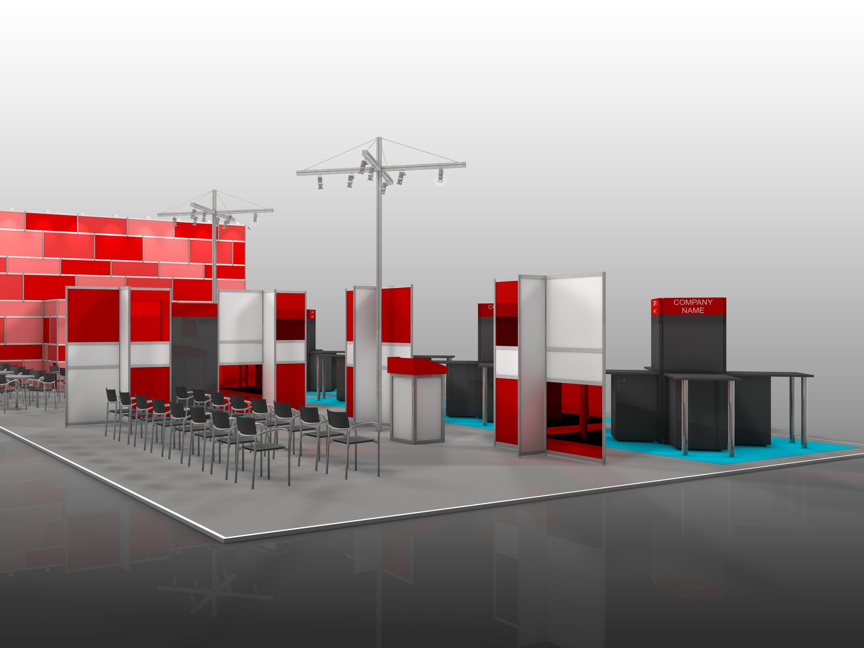 Messestand Campus Mittelstand mit KMU Digital