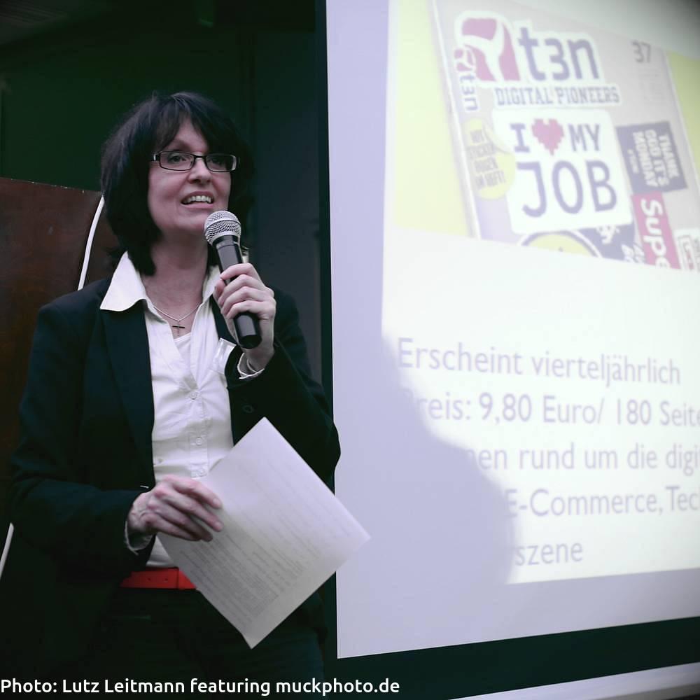 Eva Ihnenfeldt, seit 2004 Expertin für Marketing und Social Media