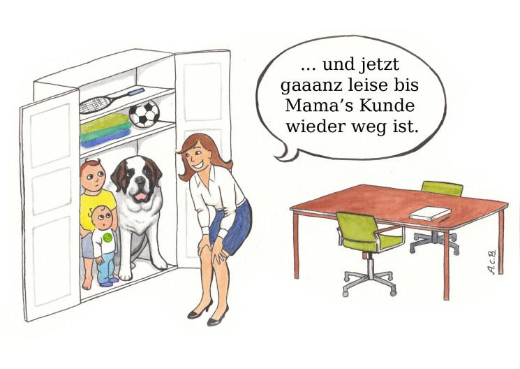 Mitmach-Umfrage! Coworking in Dortmund: Büro und Kinderbetreuung?